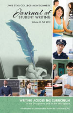 2013 Writing Across the Curriculum
