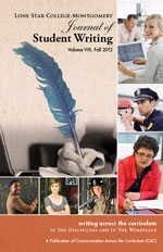 2012 Writing Across the Curriculum Journal